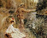 Pierre Auguste Renoir The Fisherman painting